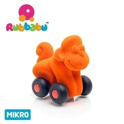 Rubbabu małpka – pojazd sensoryczny pomarańczowy mikro