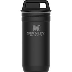 Stalowe kieliszki 4x60ml w czarnym pojemniku Stanley Adventure 10-01705-036