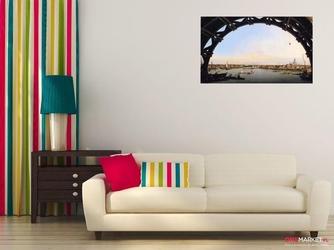 londyn. miasto widziane spod mostu westminster  canaletto giovanni antonio canal ; obraz - reprodukcja