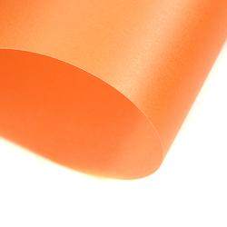 Papier transparentny gładki - pomarańczowy - POM