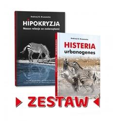 Komplet książek hipokryzja, histeria a.kruszewicz