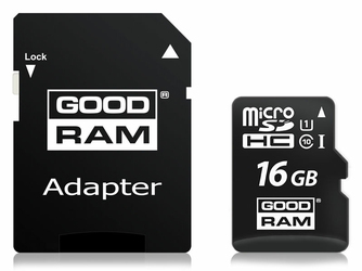 Karta pamięci GoodRam micro SD SDHC class 10 16GB