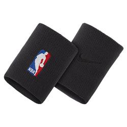 Opaski frotka na rękę Nike NBA Elite - NKN03-001 - Czarny