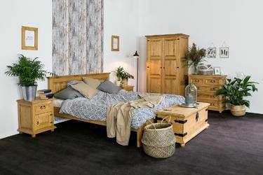 Szafa dwudrzwiowa cevilo prowansalska drewniana