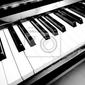 Plakat piano keys