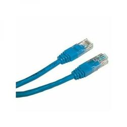 UTP patchcord, Cat.5e, RJ45 M-5m, nieekranowany, niebieski, economy