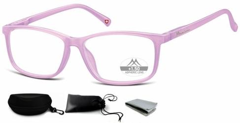 Asferyczne okulary do czytania montana plusy mr62f