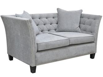 Klasyczna sofa nadia z pikowanym oparciem 174,5 cm