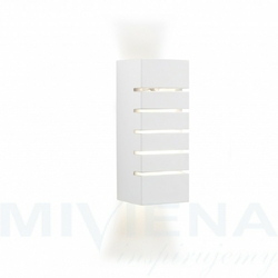 Gypsum kinkiet 1 gips biały 20 cm