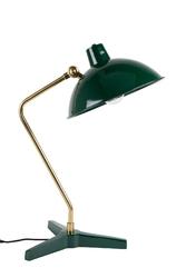Dutchbone lampa stołowa devi zielona 5200036