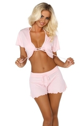 Beauty night gloria pink komplet