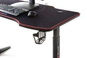 Biurko gamingowe dx racer 4 z elektronicznie podnoszonym blatem z funkcją pamięci