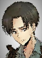 POLYamory - Levi, Attack on Titan - plakat Wymiar do wyboru: 70x100 cm