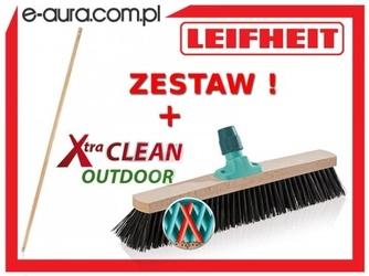 Szczotka leifheit xtra clean outdoor 50 cm 45007 z drewnianym drążkiem