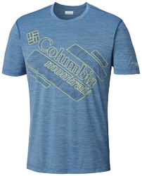 T-shirt męski columbia trinity trail 2.0 graphic am0688403