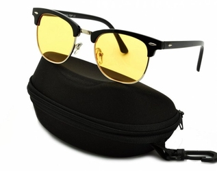 Rozjaśniające okulary do jazdy nocą dla kierowców clubmaster st102