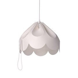 Loftlight :: lampa wisząca beza 2 biała szer. 39 cm