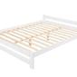 Łóżko drewniane Ottawa 140x200 biały
