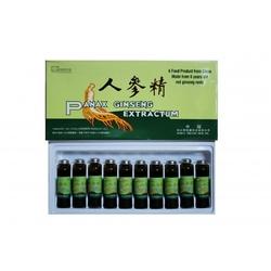 Żeń-szeń, napój z żeń-szenia panax 10 ampułek po 10ml