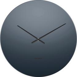 Zegar ścienny mirage czarny