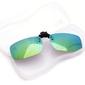 Nakładki lustrzane zielone polaryzacyjne na okulary korekcyjne