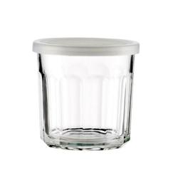 Szklanka z pokrywką French glass