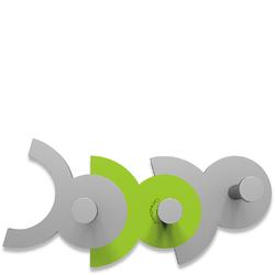 Wieszak ścienny Diennea CalleaDesign zielony, aluminiowy 13-014-76