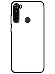 Zaprojektuj czarne etui na telefon z nadrukiem xiaomi redmi note 8t