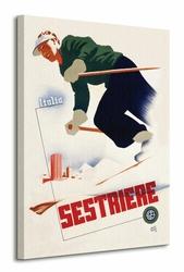Italia Sestriere - Obraz na płótnie