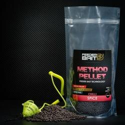Method Pellet Feeder Bait Spice Black Chilli 4mm 800g