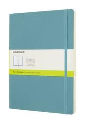 Notes Moleskine w miękkiej oprawie XL reef blue gładki
