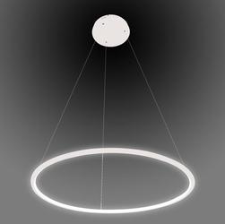 Altavola Design :: modna lampa Ledowe Okręgi No.1 biała 60 cm in 4k - biały