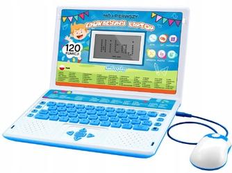 Laptop edukacyjny dla dziecka kinderplay blue