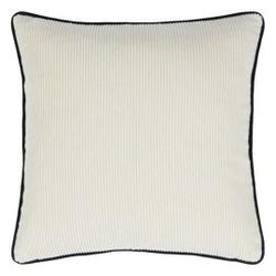 Designers guild :: poduszka dekoracyjna corda chalk biała