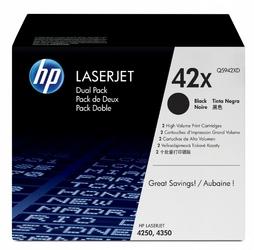 HP Tonery LJ 42504350 MFP DWUPAK CZARNY 20k Q5942XD