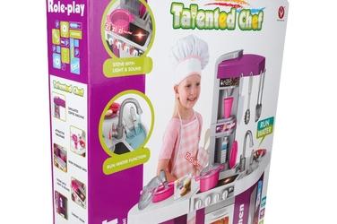 Zestaw kuchenny dla dzieci talented chef 72.5x61x33 cm