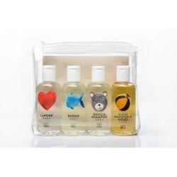 Linea mammababy zestaw kosmetyków mammababy 4 x 100ml mydło, płyn do kąpieli, szampon, olejek