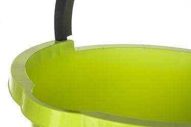 Plast team atlanta wiadro z wylewką 10 l zielone