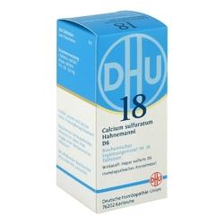 Biochemie dhu 18 calcium sulfuratum d 6 tabl.