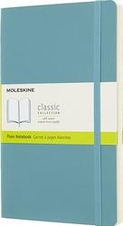 Notes Moleskine w miękkiej oprawie L reef blue w linie