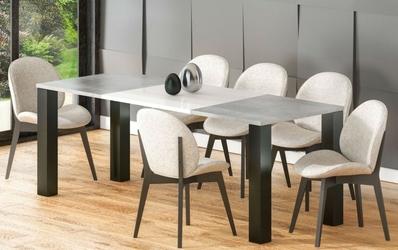 Nowoczesny rozkładany stół juka  130-265 cm