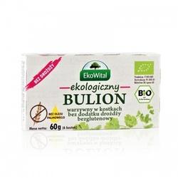 Bulion warzywny bezglutenowy bio 60g eko-wital