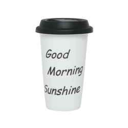 Kubek travel biały good morning ib laursen
