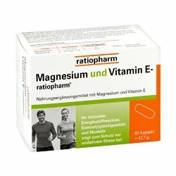 Magnez + vit.E kapsułki