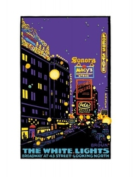 Boradway lights - reprodukcja