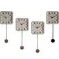 Zuiver :: zegar betonowy tiktak zestaw 6szt.