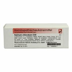 Natrium Chloratum D 30 Globuli