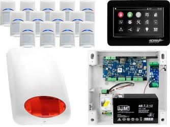 Zestaw alarmowy ropam neogsm-ip 13 x czujka bosch manipulator dotykowy tpr-4bs wifi gsm