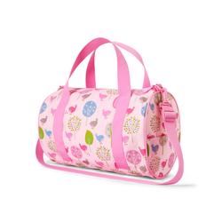 Podręczna torba różowa w ptaszki Penny Scallan