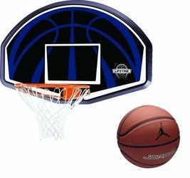 Tablica do koszykówki obręcz Lifetime Dallas 90065 + Piłka do koszykówki Air Jordan Legacy - JKI0285807